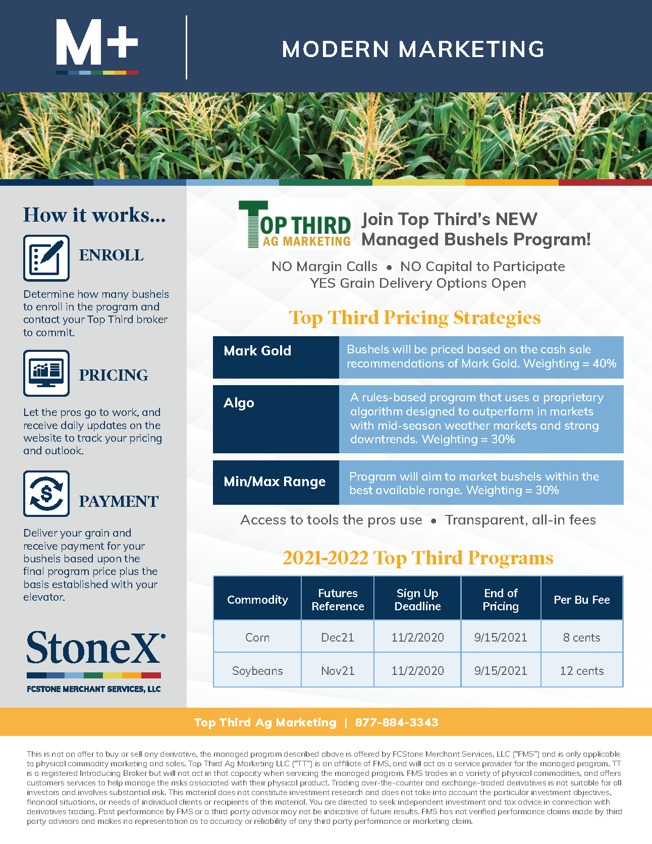 Top Third — M+ Managed Bushels Program (2021-2022)